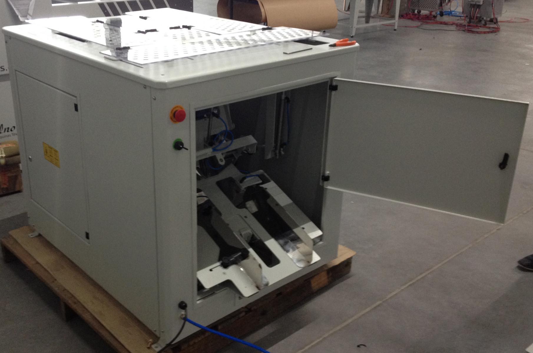 Falt- und Verpackungsmaschine